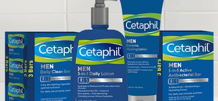 Cetaphil unveils men's skin care line