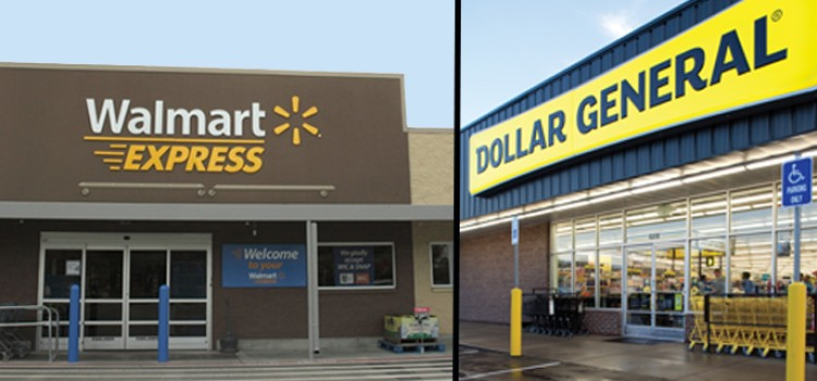 Dollar General buys Walmart Express units
