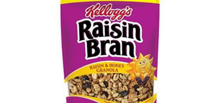 Kellogg's debuts Raisin Bran Granola