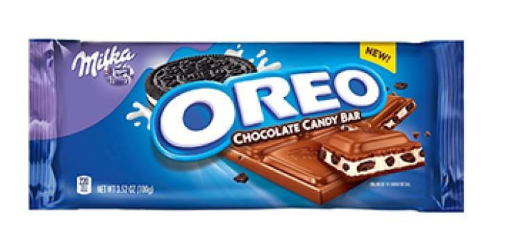 Mondelez launches Milka Oreo candy bars
