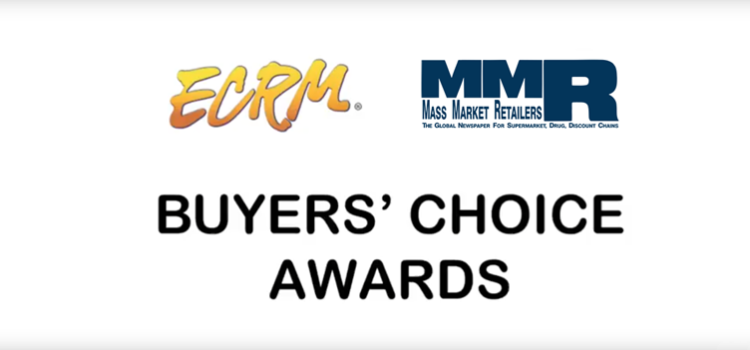 ECRM/MMR Buyers Choice Awards in snacks, dry grocery