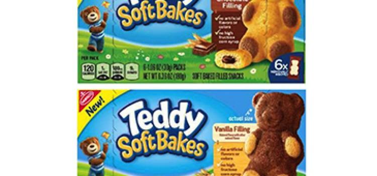 Mondelēz International launches Teddy Soft Bakes snacks