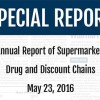 Annual Report of Supermarket, Drug and Discounts Chains