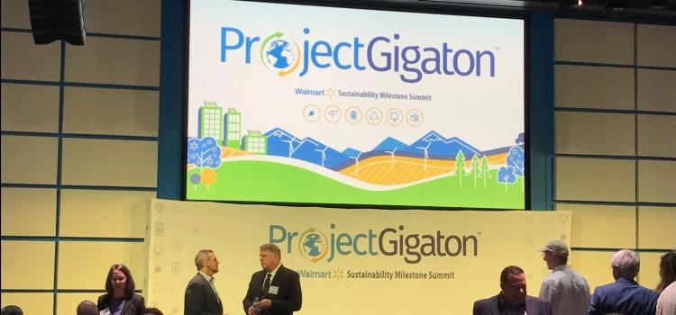Walmart's Project Gigaton targets emissions