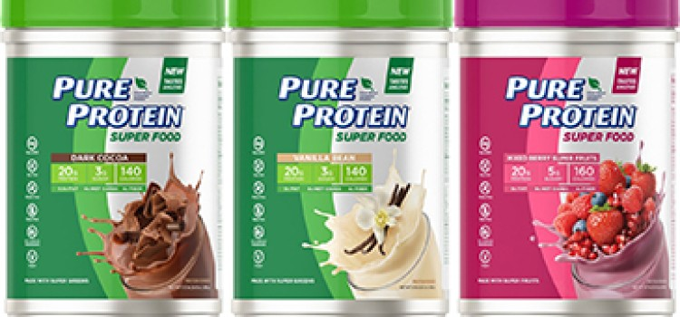 Pure Protein launches new plant-based protein powder