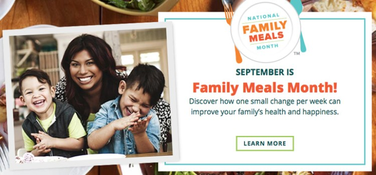 Family meals promoted by FMI