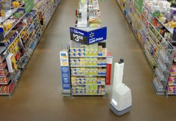 Walmart testing shelf-scanning robots