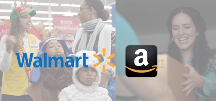 Walmart, Amazon vie for holiday advantage