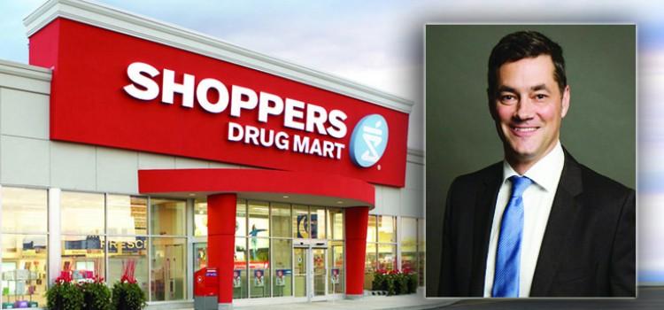 Jeff Leger named Shoppers Drug Mart president