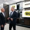 Amazon partners with Best Buy