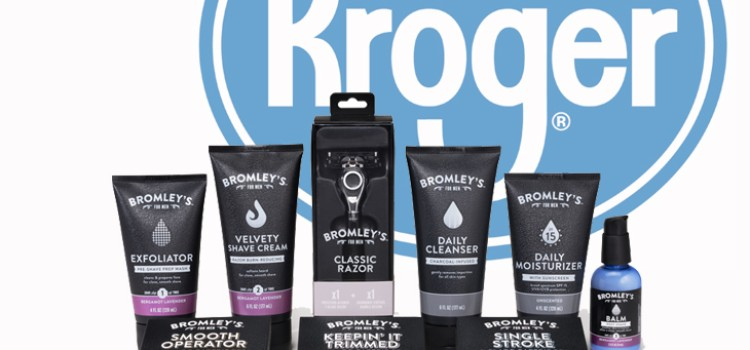 Kroger launches men's grooming line