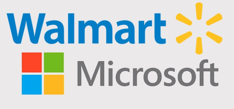 Walmart establishes strategic partnership with Microsoft