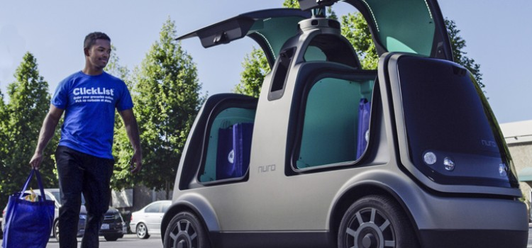 Kroger picks test market for driverless delivery