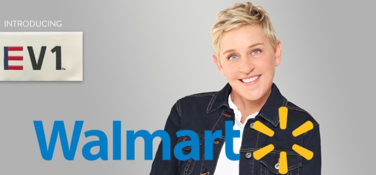Walmart teams with Ellen DeGeneres on apparel