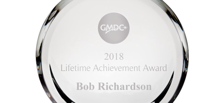 Richardson receives GMDC lifetime achievement award