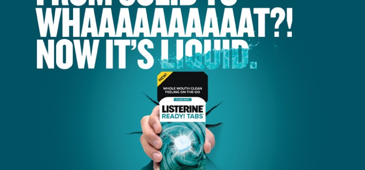 Listerine launches solid-to-liquid tablets
