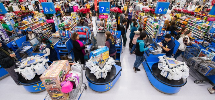 Black Friday generated big crowds at retail stores