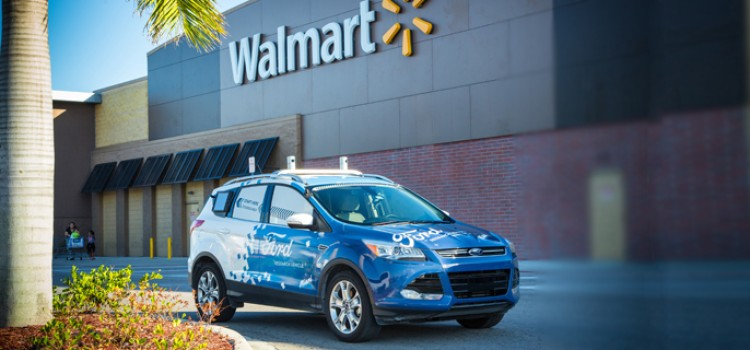 Walmart, Ford to test driverless grocery delivery
