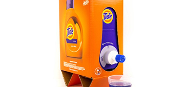 P&G debuts Tide Eco-Box package