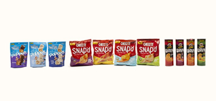 Kellogg's will launch new snacks from popular brands