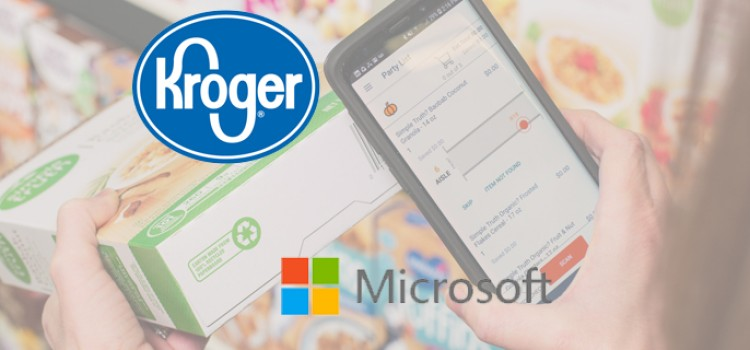 Kroger, Microsoft partner on technology