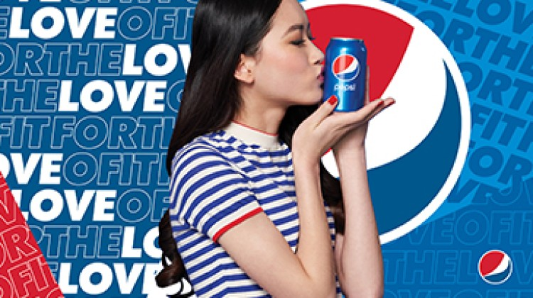 "Pepsi unveils ""For the Love of It"" tagline across its trademark"