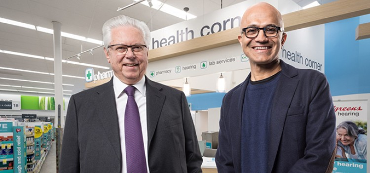 WBA, Microsoft partner to transform health care