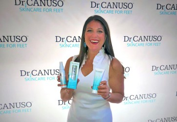 Dr. Canuso's Skincare for Feet partners with QVC