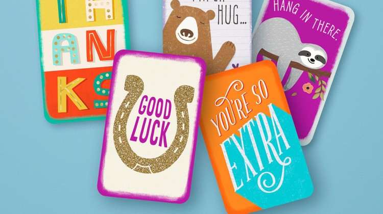 Hallmark expands Just Because mini greeting card line