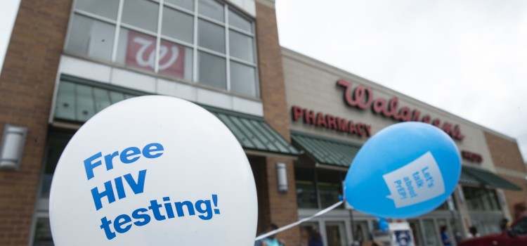 Walgreens to provide free HIV testing