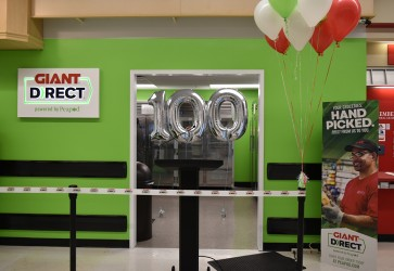 GIANT DIRECT service reaches milestone