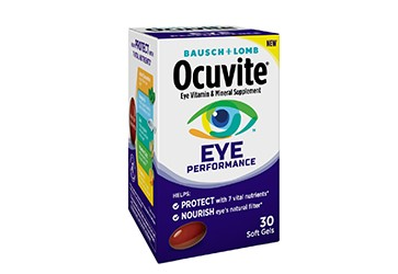 Bausch + Lomb launches Ocuvite Eye Performance vitamins