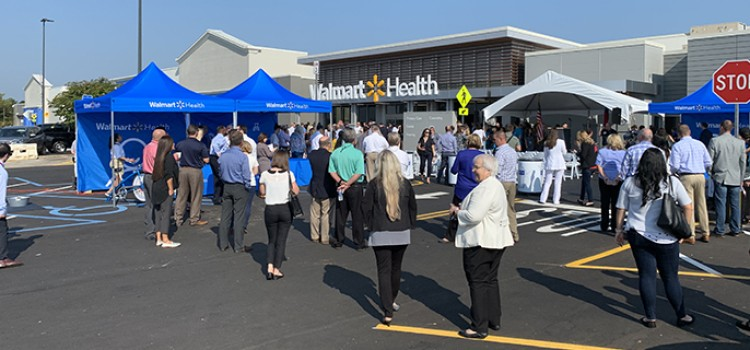Walmart debuts first health and wellness center