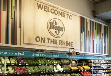Kroger opens two-level urban store