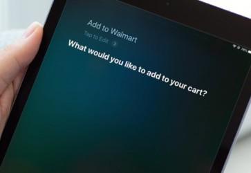 Siri option added to Walmart online shopping