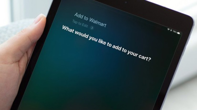 Siri option added to Walmart online shopping