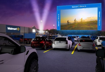 Walmart to host drive-in movies