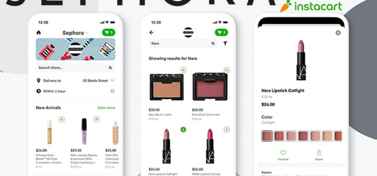 Instacart, Sephora partner for same-day delivery