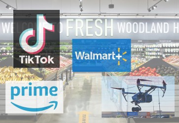 Walmart and Amazon's convergence