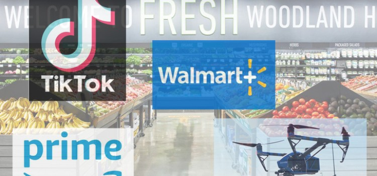 Walmart and Amazon's convergence