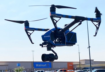 Walmart piloting drone delivery of COVID-19 test kits