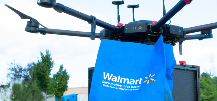 Walmart launches drone delivery pilot