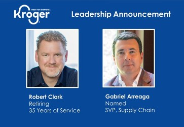 Kroger names Arreaga SVP of supply chain