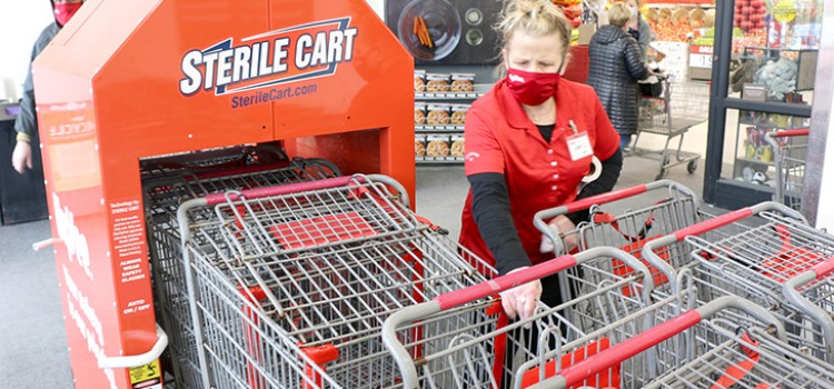 Hy-Vee automates cleaning of shopping carts