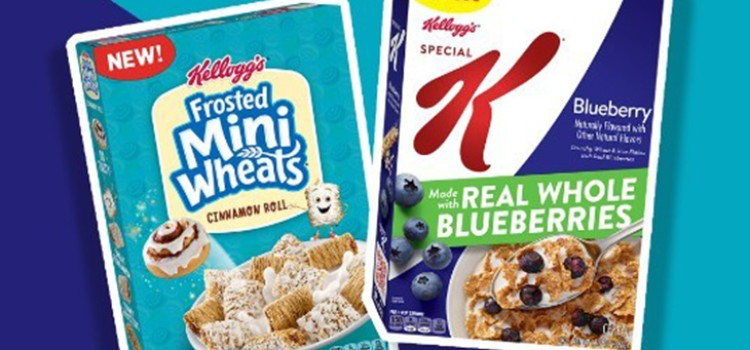 Kellogg adds two new whole grain cereal flavors