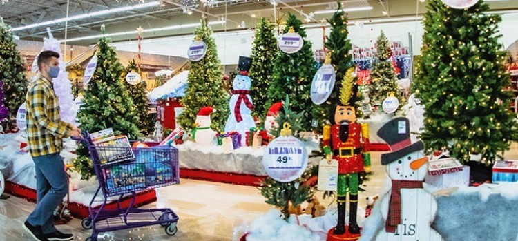 Holiday decorating a top trend at Meijer