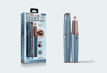 Flawless eyebrow beauty device is launched