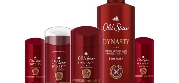 Old Spice debuts latest deodorant, antiperspirant, body wash offerings