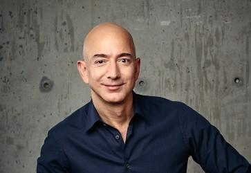 Bezos' vision underpins Amazon's rapid ascent
