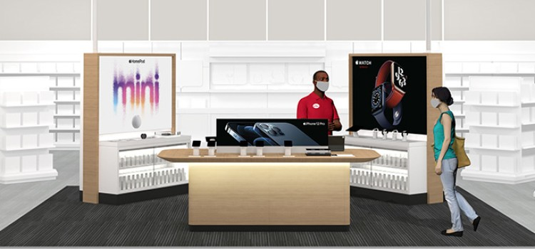 Target debuts enhanced Apple departments